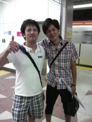植田誠(うえはまだ) 公式ブログ/トークの後の、はしゃぎっぷり。 画像1