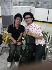 植田誠(うえはまだ) 公式ブログ/昨日の月イチでの、はしゃぎっぷり。 画像1