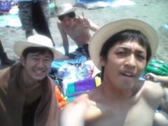 植田誠(うえはまだ) 公式ブログ/8月の、はしゃぎっぷり。 画像1