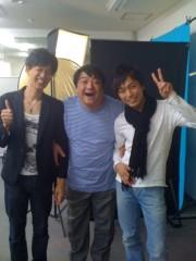 青樹伸 公式ブログ/撮影2.。。彦摩呂さん☆ 画像1