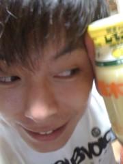 青樹伸 公式ブログ/稲刈りとレモン牛乳? 画像1