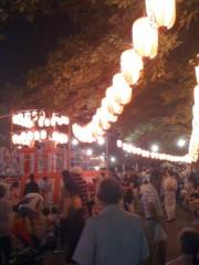 のぶ 公式ブログ/広尾の盆踊り! 画像1