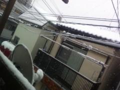 大崎由希 公式ブログ/大雪ロケ(´ω`) 画像2