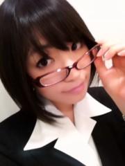大崎由希 公式ブログ/めがね再び 画像1