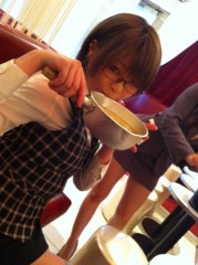 大崎由希 公式ブログ/今日のきゃふぇでは★ 画像1