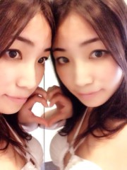 大崎由希 公式ブログ/双子ごっこ。 画像2