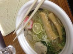 大崎由希 公式ブログ/東京ラーメンショー2012☆ 画像1