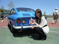 藤本えみり 公式ブログ/八千穂高原でクラシックカーイベント♪ 画像3