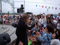 トリックマスターソラ バイオレット 公式ブログ/今 ソラにできること 東日本大震災 東北3県復興 魔法支援 画像1