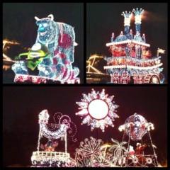 戸田れい 公式ブログ/エレクトリカルパレード 画像2