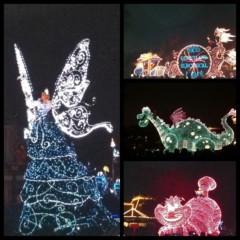 戸田れい 公式ブログ/エレクトリカルパレード 画像1