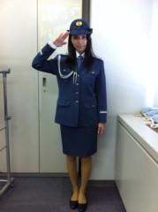 戸田れい 公式ブログ/新宿警察署一日署長!! 画像1