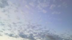 片岡あづさ 公式ブログ/秋っぽい雲。 画像1