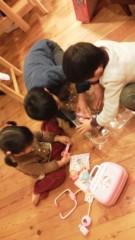 片岡あづさ 公式ブログ/群がる子供たち 画像1
