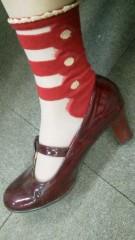 片岡あづさ 公式ブログ/靴靴下。 画像1