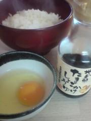 坂田陽子 公式ブログ/卵かけご飯 画像1