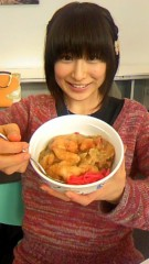 おかもとまり 公式ブログ/食事:学食の鶏ザーサイ丼 画像2