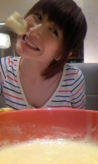 おかもとまり 公式ブログ/チーズフォンデュ 画像3