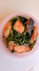 おかもとまり 公式ブログ/食事:学食の鶏ザーサイ丼 画像1