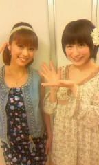 おかもとまり 公式ブログ/生放送後、神戸蘭子さんと。 画像2