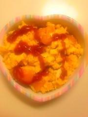 おかもとまり 公式ブログ/料理:かぼちゃエッグ 画像2