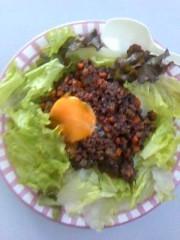 おかもとまり 公式ブログ/料理:挽き肉カレータコライス風 画像1