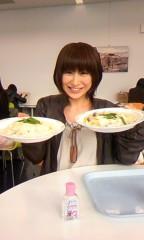 おかもとまり 公式ブログ/食事:学食の、きのこクリームリゾット 画像1