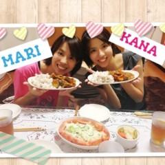 おかもとまり 公式ブログ/ふたごちゃんに米倉涼子さん風メイク 画像1