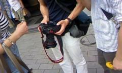 おかもとまり 公式ブログ/新橋で撮影。。 画像1