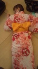 おかもとまり 公式ブログ/和室で浴衣で 画像1