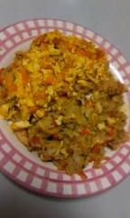 おかもとまり 公式ブログ/料理:かぼちゃ卵チャーハン 画像1