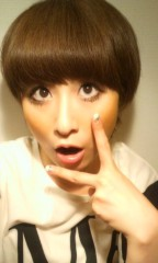 おかもとまり 公式ブログ/ものまねメイク連載29 木村カエラさん風 画像1