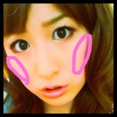 おかもとまり 公式ブログ/ものまねメイク連載21 小嶋陽菜さん風 画像2
