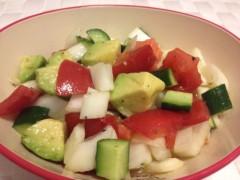 おかもとまり 公式ブログ/サラダ 画像1