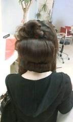 中川琴美 公式ブログ/後ろ髪 画像1