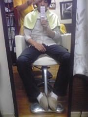 オーバービークル 公式ブログ/髪を切る日 画像1