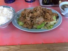 オーバービークル 公式ブログ/肉しょうが野菜イタメ 画像2