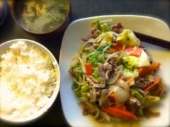 オーバービークル 公式ブログ/野菜炒め 画像3