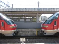 菱刈健人 プライベート画像/ひっし〜の鉄道アルバム館! 向かい合わせ♪♪