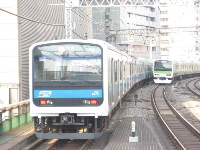 京浜東北線と山手線