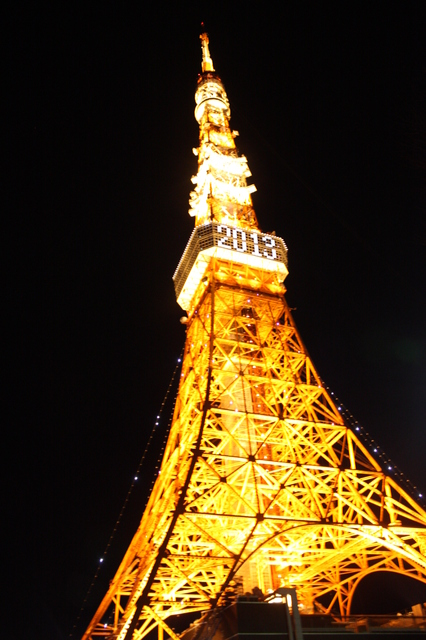 2013-1-3 in TokyoTower
