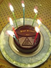 辻昌子 公式ブログ/誕生日ケーキ 画像1