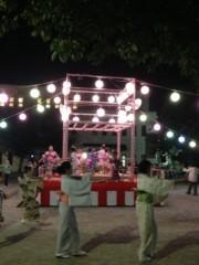 辻昌子 公式ブログ/地元の盆踊り大会♪ 画像1