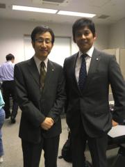 矢柴俊博 公式ブログ/「監査役 野崎修平」に! 画像1