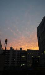 Asami(ナナカラット) 公式ブログ/夕焼け雲 画像1