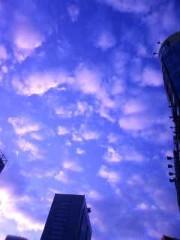 相坂柚希 公式ブログ/東京の空もふつくしいw 画像1