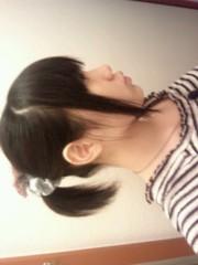 相坂柚希 公式ブログ/ツインテからのポニテ 画像2