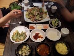 ドンホン 公式ブログ/野菜チョクバル(족발:豚足) 画像1