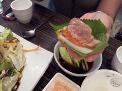 ドンホン 公式ブログ/野菜チョクバル(족발:豚足) 画像3