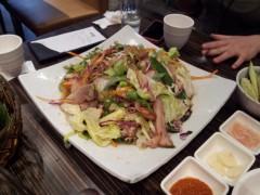 ドンホン 公式ブログ/野菜チョクバル(족발:豚足) 画像2